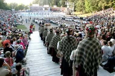 """""""Dainų šventė"""": kauniečiai šoks Vilniuje"""