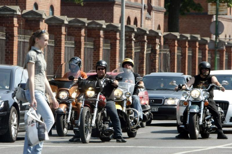 Baikeriai savo motociklų grožį demonstruos klaipėdiečiams