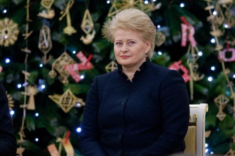 Beveik tūkstantį sveikinimų prezidentei atsiuntė Lietuvos piliečiai