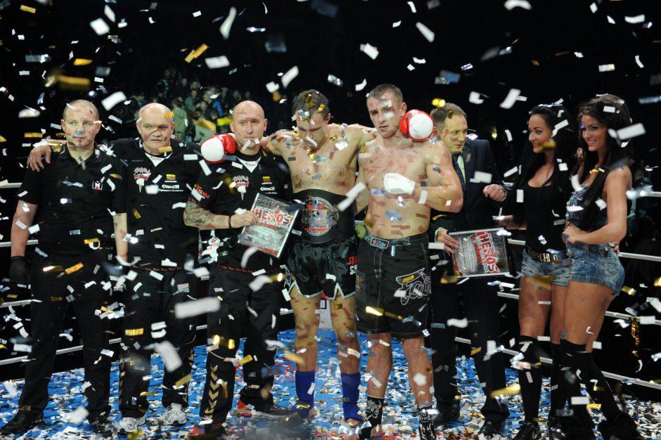 M.Sakalauskas iškovojo Europos čempiono diržą, lietuviai - neįveikiami