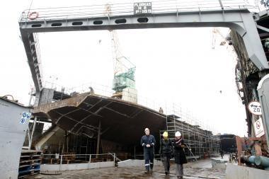 """""""Vakarų laivų statykla"""" pralaimėjo konkursą Estijoje"""