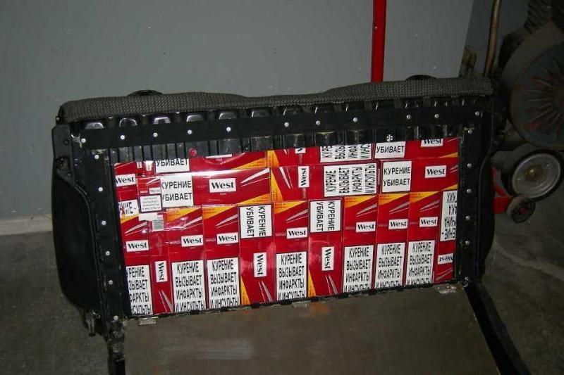 Kybartų muitininkai sulaikė apie 40 tūkst. kontrabandinių cigarečių