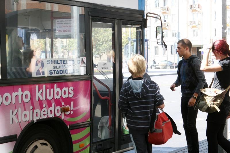 Rugpjūtį miesto autobusais važiavo per 692 tūkst. žmonių