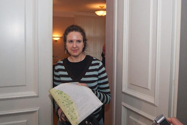 Į teismą neatvykus E.Kusaitei, atidėtas jos skundo dėl kratos nagrinėjimas