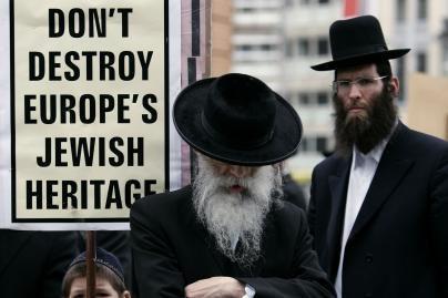 Šalies vadovai pasmerkė antisemitinius išpuolius