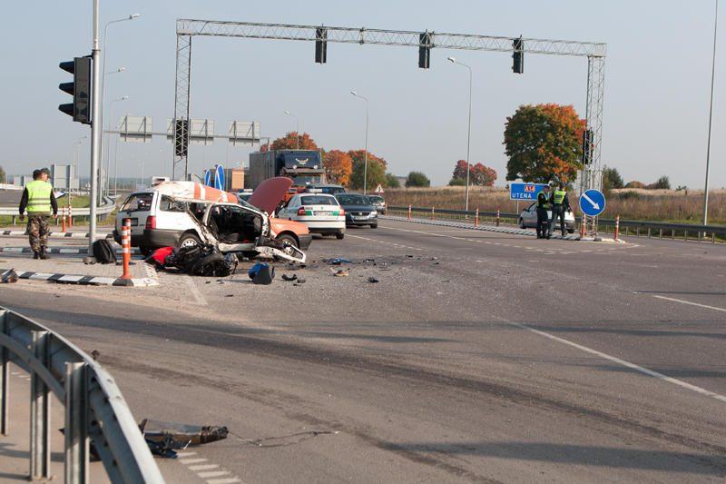 Kruvinoji statistika: per savaitę keliuose žuvo septyni žmonės
