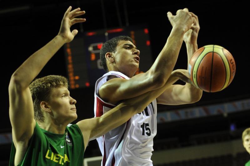 Lietuvos devyniolikmečiai krepšininkai pateko į ketvirtfinalį