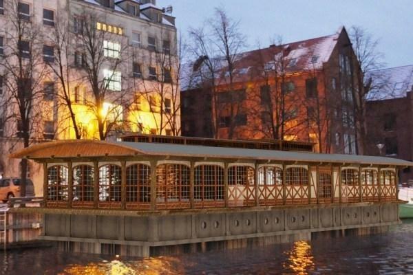 Laivo-restorano Danėje idėja ekspertų neįtikino