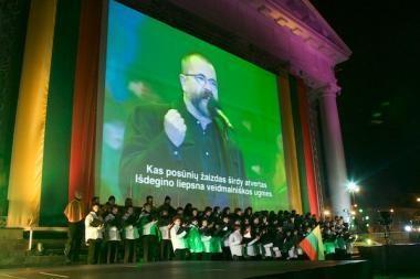 Vilniaus Rotušės aikštėje vyko šventinis koncertas (papildyta)
