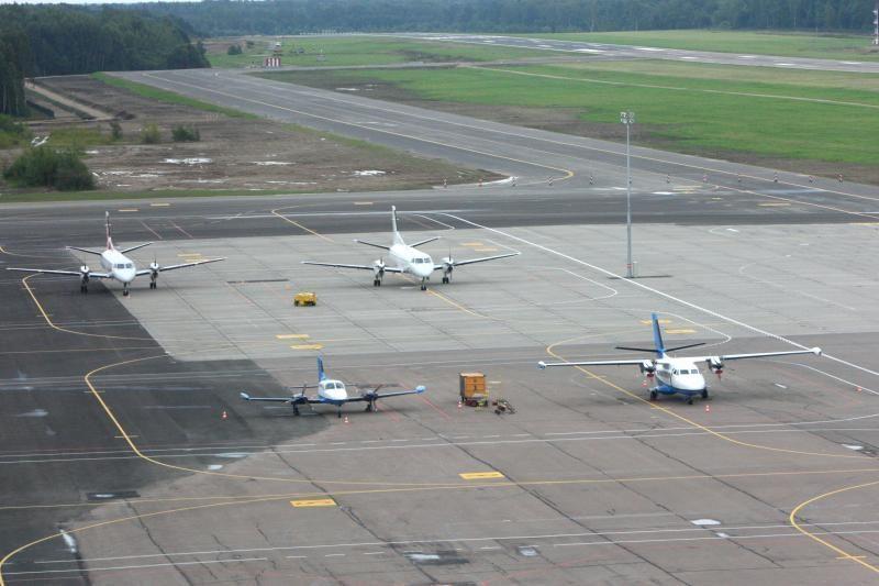 Kauno oro uostas patyrė mažiau nuostolių