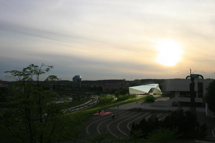 Modernaus meno centras pripažintas valstybei svarbiu projektu