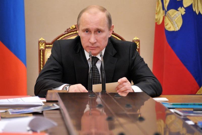 V. Putinas: Rusijos sistemos vadinti autoritarine negaliu