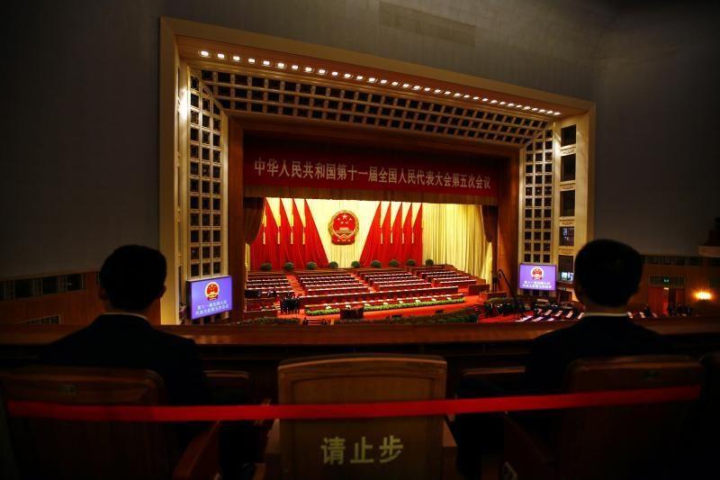 """Kinijos lyderis perspėjo apie gresiančią """"griūtį"""" Komunistų partijoje"""