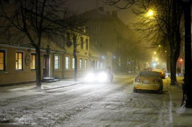 Eismo sąlygos Vakarų Lietuvoje itin sudėtingos