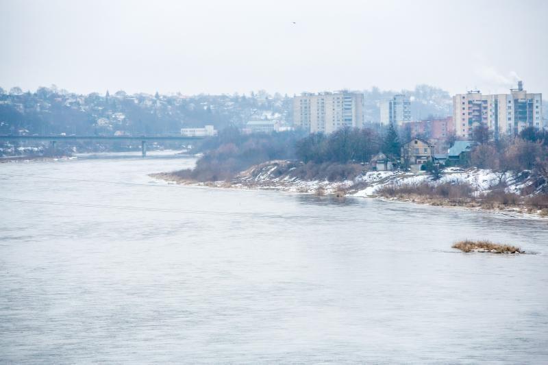 Upės ramios, Kauno mieste ir rajone potvyniu nekvepia