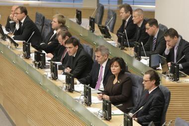 Pritarta 2009 m. biudžeto projektui