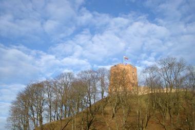 Vokiečių rašytojo Knisterio naujausioje knygoje minima ir Gedimino pilis