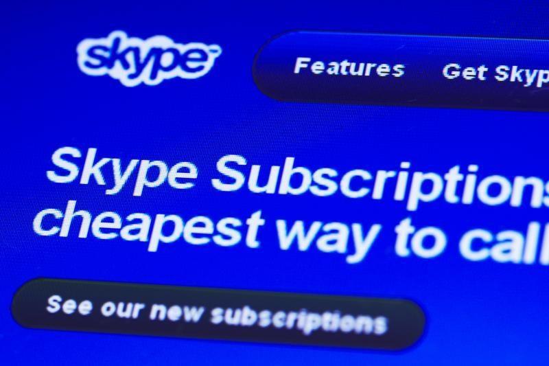 """Garso skambučių metu """"Skype"""" vartotojai matys reklamą"""