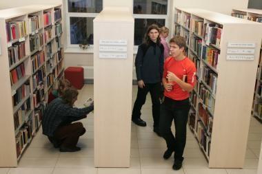 I.Simonaitytės biblioteka rengia anglų kalbos mugę (programa)