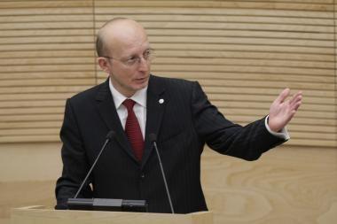 """A.Valinskas: """"Koalicija – ne kavos servizas, kurį namų šeimininkė stumdo kaip nori"""""""
