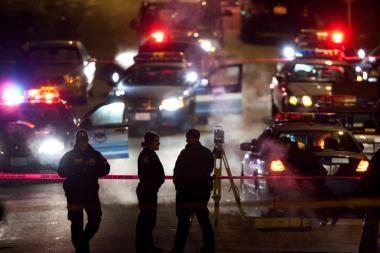 JAV: nušautas vyras, įtartas keturių policininkų nužudymu