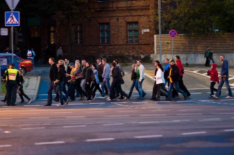 Policija džiūgauja: čempionato finalas Kaune praėjo gana ramiai