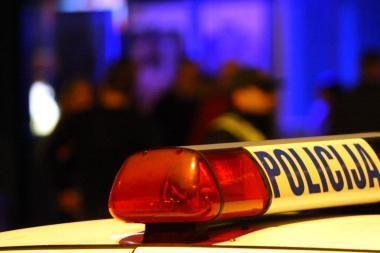 Vilniuje apvogtas policijos automobilis