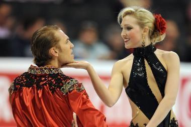Lietuvos ledo šokių pora Vokietijoje iškovojo bronzą