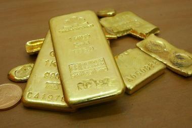 Rusija aukso gavybą pernai padidino daugiau nei dešimtadaliu
