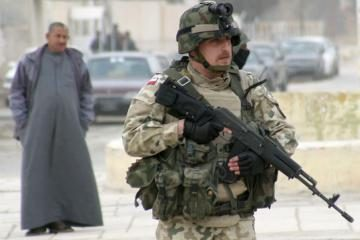 Lenkų kariai baigia misiją Irake