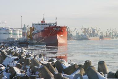 Klaipėdos jūrų uosto pajamos iš rinkliavų viršija planus