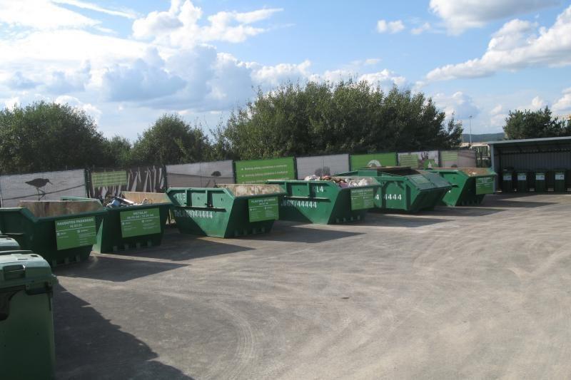 Atnaujinta aikštelė pasirengusi priimti stambiagabarites atliekas