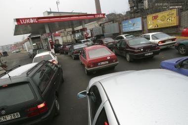 Rengiamasi protestams prieš degalų kainas