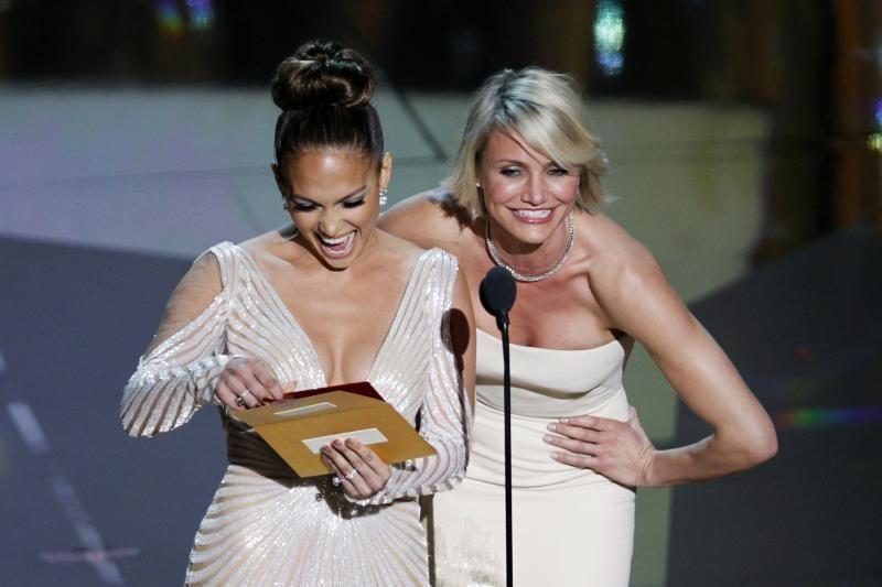 Jennifer Lopez ir Cameron Diaz: filmavimo aikštelėje mes nesipešėme