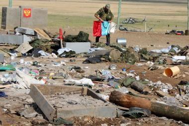 Dagestano sostinėje susisprogdinus mirtininkui nukentėjo 26 žmonės