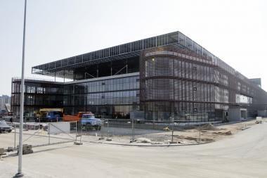 """""""FIBA Europe"""" atstovai atvyksta apžiūrėti Klaipėdos arenos"""