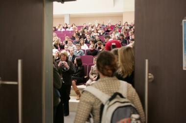 Vilniaus pedagoginiame universitete atidaroma E.Hemingvėjaus auditorija