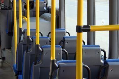 Pašautas autobuso vairuotojas