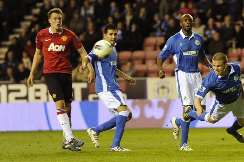 """Manchester United"" nusiledo ""Wigan Athletic"""