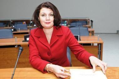 Vilniaus tarybos narei J.Žeimienei FNTT pareiškė įtarimus