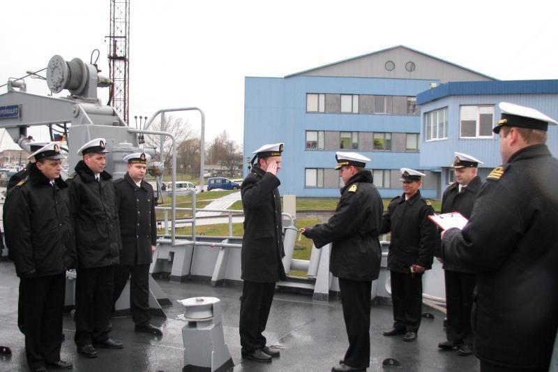 Klaipėdoje BALTRON vado pareigas perėmė E. Oleškevičius