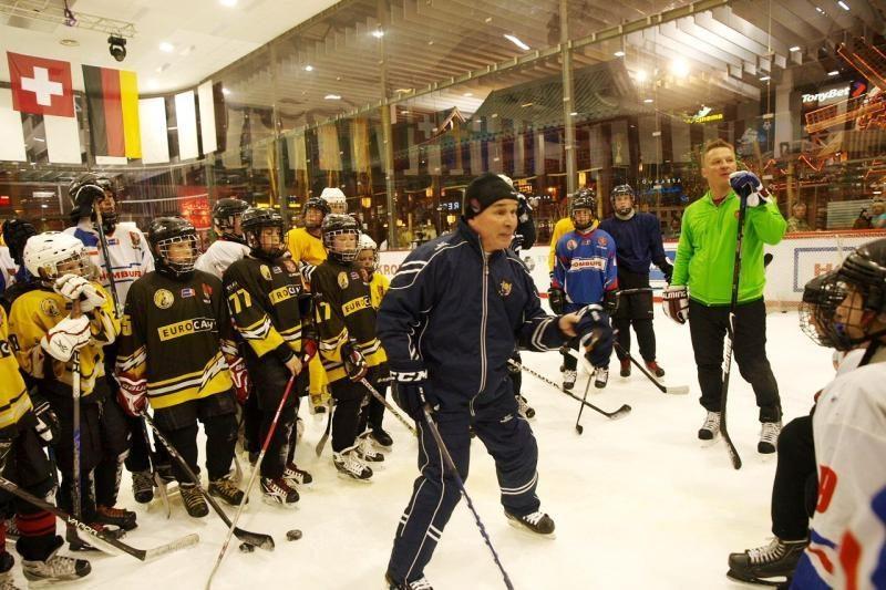 Legendinis ledo ritulio treneris: ledas Lietuvoje pajudėjo