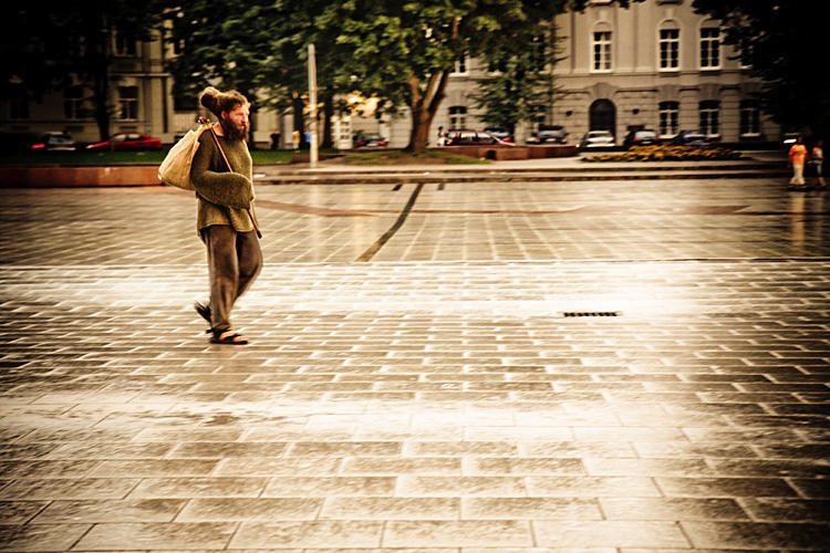 Vilnius registruos miesto elgetas, gamins jiems pasus