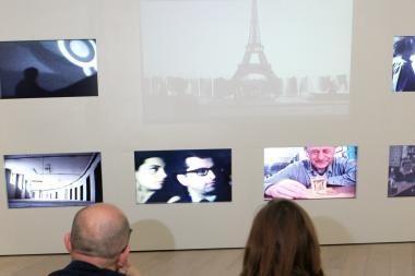 Jono Meko vizualiųjų menų centre - nematomas J.Mačiūno ir Š.Barto susitikimas