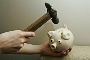 Bus rengiamas Fizinių asmenų bankroto įstatymas
