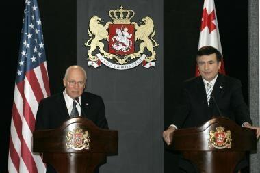 Lankydamasis Tbilisyje D.Cheney smerkė Rusijos agresiją