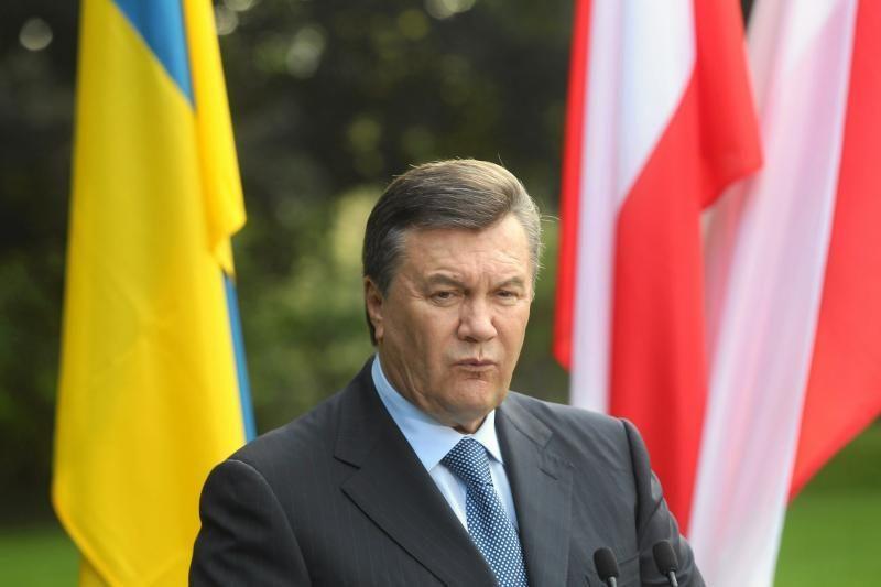 V.Janukovyčius: Ukraina ir toliau sieks integruotis į Europą