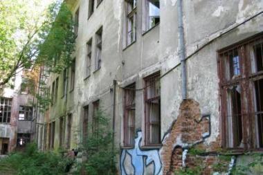 Buvusį Žydų ligoninės pastatą norima kuo skubiau parduoti