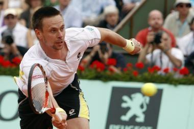 ATP serijos Londono teniso turnyre - R.Soderlingo pergalė prieš serbą