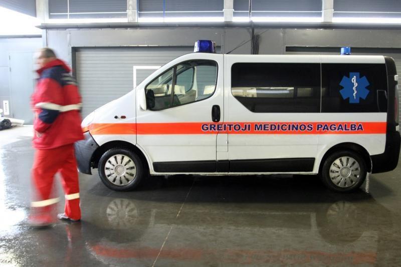Šakių rajone per avariją nukentėjo aštuoni žmonės